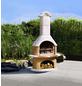 BUSCHBECK Gartengrillkamin »Bologna«, B x T x H: 110 x 65 x 210 cm-Thumbnail