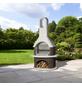 BUSCHBECK Gartengrillkamin »Milano«, B x T x H: 110 x 65 x 203 cm-Thumbnail