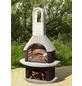 BUSCHBECK Gartengrillkamin »Milano«, BxTxH: 110x65x203cm-Thumbnail