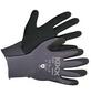 KIXX Gartenhandschuhe »Flex«, Größe: 9, grau/schwarz, Latexbeschichtet-Thumbnail