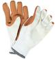 MR. GARDENER Gartenhandschuhe, Größe: XL(10), weiß, Latexbeschichtet-Thumbnail