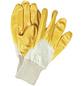 MR. GARDENER Gartenhandschuhe, L(9), gelb, Nitrilbeschichtet-Thumbnail