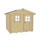 WEKA Gartenhaus »107 Premium«, B x T: 380 x 280 cm, Satteldach, inkl. Fußboden-Thumbnail