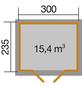 WEKA Gartenhaus »122 DT«, B x T: 380 x 274 cm-Thumbnail