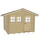 WEKA Gartenhaus »139 A Gr.1«, B x T: 380 x 320 cm, Satteldach, inkl. Fußboden-Thumbnail