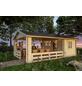 SKANHOLZ Gartenhaus »Alicante 1«, B x T: 420 x 553 cm, Satteldach, inkl. Fußboden-Thumbnail