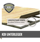 WOODFEELING Gartenhaus »Amberg 1«, B x T: 213 x 140 cm, Satteldach-Thumbnail