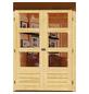 WOODFEELING Gartenhaus »Amberg«, BxT: 213 x 197 cm, Satteldach-Thumbnail