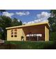 WOODFEELING Gartenhaus »Askola 5 «, BxT: 591.5 x 262 cm (Aufstellmaße), Flachdach-Thumbnail