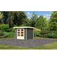WOODFEELING Gartenhaus »Askola«, BxT: 266 x 262 cm (Aufstellmaße), Flachdach-Thumbnail