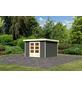 WOODFEELING Gartenhaus »Askola«, BxT: 334 x 331 cm (Aufstellmaße), Flachdach-Thumbnail