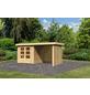 WOODFEELING Gartenhaus »Askola«, BxT: 467 x 238 cm, Flachdach-Thumbnail