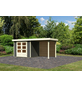 WOODFEELING Gartenhaus »Askola«, BxT: 508 x 238 cm, Flachdach-Thumbnail