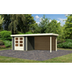 WOODFEELING Gartenhaus »Askola«, BxT: 528.5 x 238 cm (Aufstellmaße), Flachdach-Thumbnail