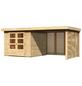 WOODFEELING Gartenhaus »Askola«, BxT: 544 x 262 cm, Flachdach-Thumbnail
