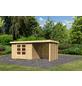 WOODFEELING Gartenhaus »Askola«, BxT: 554 x 238 cm (Aufstellmaße), Flachdach-Thumbnail