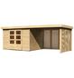 WOODFEELING Gartenhaus »Askola«, BxT: 591.5 x 262 cm (Aufstellmaße), Flachdach-Thumbnail