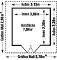 GROSFILLEX Gartenhaus, B x T x H: 315 x 239 x 250 cm-Thumbnail