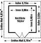 GROSFILLEX Gartenhaus, B x T x H: 315 x 355 x 250 cm-Thumbnail