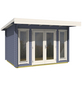 LASITA MAJA Gartenhaus »Barbados«, B x T: 390 x 350 cm, Fichte-Thumbnail