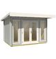 LASITA MAJA Gartenhaus »Barbados«, B x T: 390 x 350 cm, Flachdach-Thumbnail
