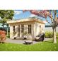 SKANHOLZ Gartenhaus »Basel 1«, BxT: 460 x 360 cm (Aufstellmaße), Flachdach-Thumbnail