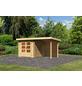 WOODFEELING Gartenhaus »Bastrup«, BxT: 454.5 x 333 cm (Aufstellmaße), Pultdach-Thumbnail