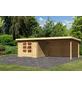 WOODFEELING Gartenhaus »Bastrup«, BxT: 714.5 x 333 cm (Aufstellmaße), Pultdach-Thumbnail