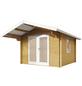 WOLFF FINNHAUS Gartenhaus »Bergen«, BxT: 360 x 395 cm, Satteldach-Thumbnail