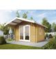 WOLFF FINNHAUS Gartenhaus »Bergen«, BxT: 360 x 450 cm, Satteldach-Thumbnail
