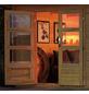 WOODFEELING Gartenhaus »Blockholm«, BxT: 405 x 421.5 cm (Aufstellmaße), Satteldach-Thumbnail