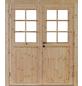 WOLFF FINNHAUS Gartenhaus »Britta«, BxT: 300 x 330 cm, Satteldach-Thumbnail
