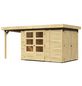 WOODFEELING Gartenhaus, BxT: 213 x 217 cm (Außenmaße), Dachplatte-Thumbnail