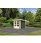 WOODFEELING Gartenhaus, BxT: 242 x 238 cm (Aufstellmaße), Flachdach-Thumbnail