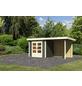 WOODFEELING Gartenhaus, BxT: 244 x 204 cm (Außenmaße), Massivholzdach-Thumbnail