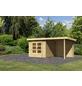 WOODFEELING Gartenhaus, BxT: 244 x 244 cm (Außenmaße), Massivholzdach-Thumbnail