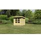 WOODFEELING Gartenhaus, BxT: 255 x 273 cm (Aufstellmaße), Pultdach-Thumbnail