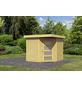 WOODFEELING Gartenhaus, BxT: 268 x 262 cm (Aufstellmaße), Flachdach-Thumbnail