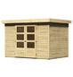 WOODFEELING Gartenhaus, BxT: 330 x 238 cm (Aufstellmaße), Flachdach-Thumbnail
