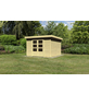 WOODFEELING Gartenhaus, BxT: 334 x 331 cm (Aufstellmaße), Flachdach-Thumbnail