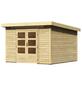 WOODFEELING Gartenhaus, BxT: 336 x 332 cm (Aufstellmaße), Pultdach-Thumbnail