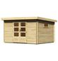 WOODFEELING Gartenhaus, BxT: 377 x 333 cm (Aufstellmaße), Pultdach-Thumbnail