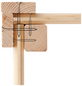 WOODFEELING Gartenhaus, BxT: 404 x 262 cm (Aufstellmaße), Flachdach-Thumbnail