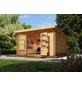 WOODFEELING Gartenhaus, BxT: 406 x 422 cm (Aufstellmaße), Pultdach-Thumbnail