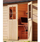 WOODFEELING Gartenhaus, BxT: 407 x 290 cm (Aufstellmaße), Satteldach-Thumbnail
