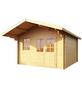 WOLFF Gartenhaus, BxT: 422 x 440 cm (Aufstellmaße), Satteldach-Thumbnail