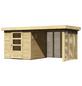 WOODFEELING Gartenhaus, BxT: 433 x 217 cm (Außenmaße), Dachplatte-Thumbnail