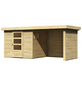 WOODFEELING Gartenhaus, BxT: 462 x 217 cm (Außenmaße), Dachplatte-Thumbnail