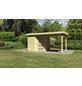 WOODFEELING Gartenhaus, BxT: 467 x 238 cm (Aufstellmaße), Flachdach-Thumbnail