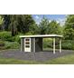 WOODFEELING Gartenhaus, BxT: 468 x 217 cm (Außenmaße), Dachplatte-Thumbnail